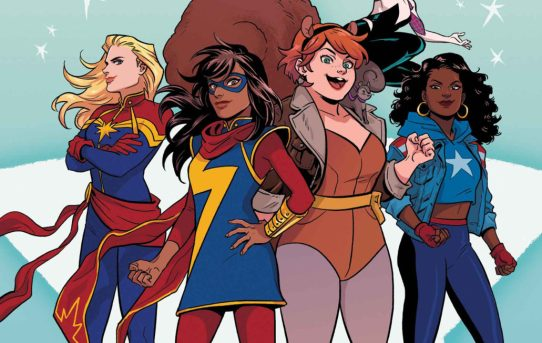 Get Ready for a Titanic Team-Up in MARVEL RISING #1!