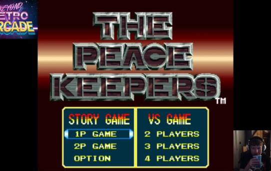Beyond Retro Arcade - The Peace Keepers