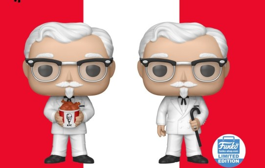 KFC Unveils Limited-Edition Colonel Sanders Collectibles With Funko