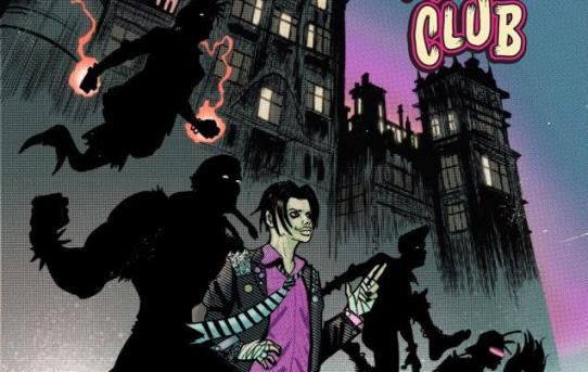 Z2 COMICS JOINS YUNGBLUD FOR  THE TWISTED TALES OF THE RITALIN CLUB OGN