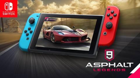 Asphalt 9: Legends Races onto Nintendo Switch™ this Summer