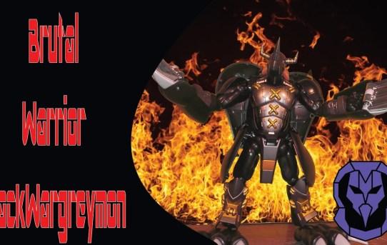 Brutal Warrior! Digimon Digivolving Spirits BlackWargreymon