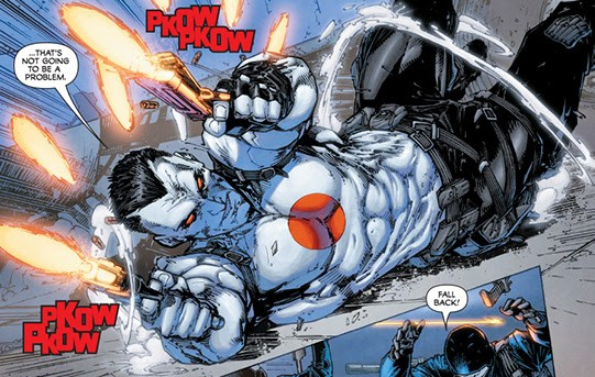 BLOODSHOT #1's Adrenaline-Fueled Preview