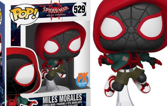 Pop! Marvel Into the Spider-Verse Casual Miles Morales PX Figure