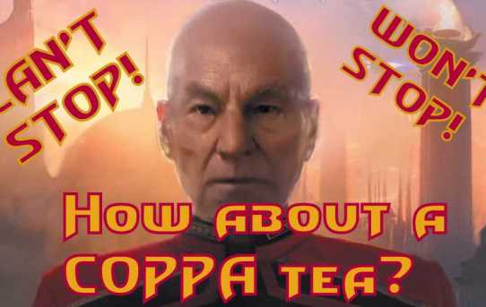 Nerd News Desk - COPPA Can't Stop Picard!