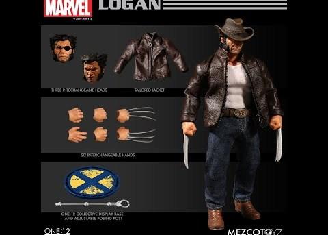 Mezco Toyz ONE:12 COLLECTIVE Logan