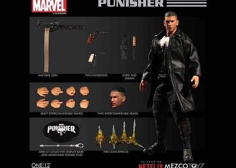 Mezco Toyz ONE:12 COLLECTIVE Netflix Punisher