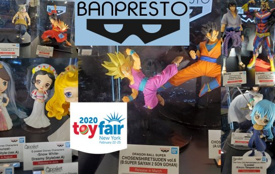 Toy Fair 2020 Banpresto Gallery