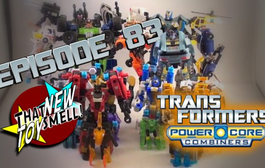 That New Toy Smell Flashback Episode 83: Transformers Power Core Combiners