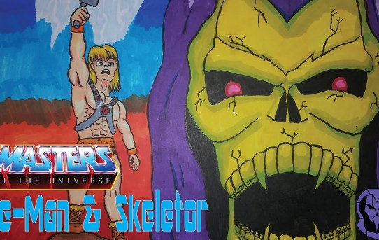 Mattel Masters of the Universe Origins He Man & Skeletor