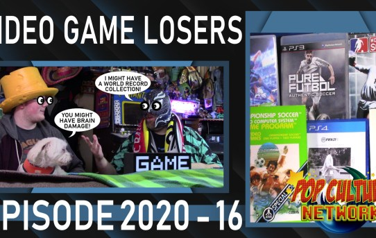 Video Game Losers 2020 - 16: Collecting Video Games Part 2 - More Soccer Madness!