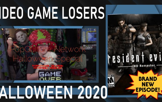Video Game Losers Halloween 2020 Special - Resident Evil HD