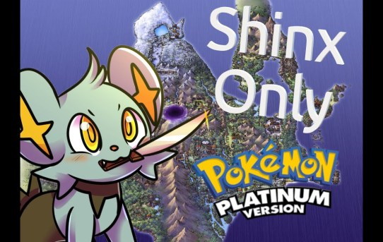 Can I Beat Pokemon Platinum using ONLY a Shinx in battle?