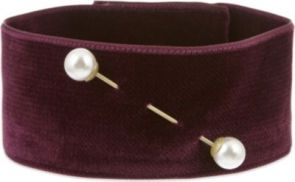 Dries Van Noten Choker Love this Purple!