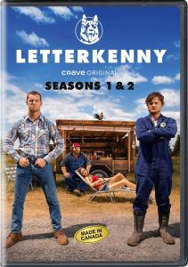 Letterkenny Season 1&2 DVD Cover