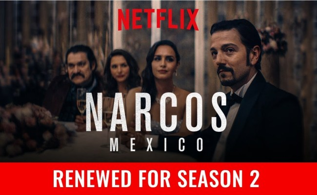 Netflix Narcos Mexico Season 2 Release Date Season 3