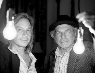 Jim Lauderdale and Buddy Miller. Photo by Michael Wilson.