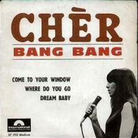 """Cher, """"Bang Bang (My Baby Shot Me Down)"""""""
