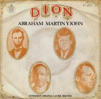 "Dion, ""Abraham, Martin and John"""