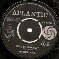 """Barbara Lewis, """"Make Me Your Baby"""""""