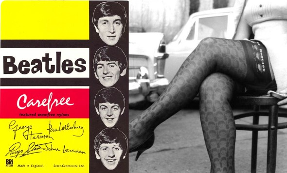 Beatles Carefree Nylon Stockings