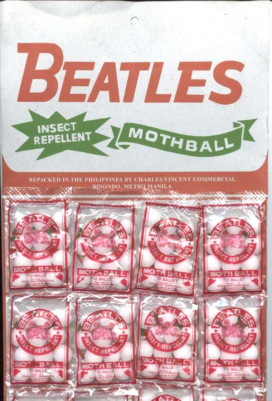 Beatles Mothball Insect Repellent