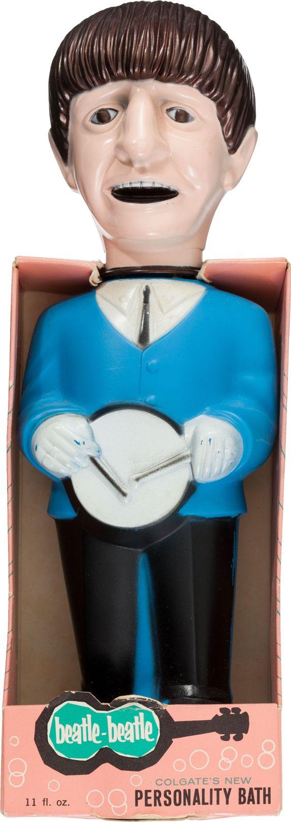 Beatles Ringo Starr Bubble Bath Doll (Colgate, 1965)