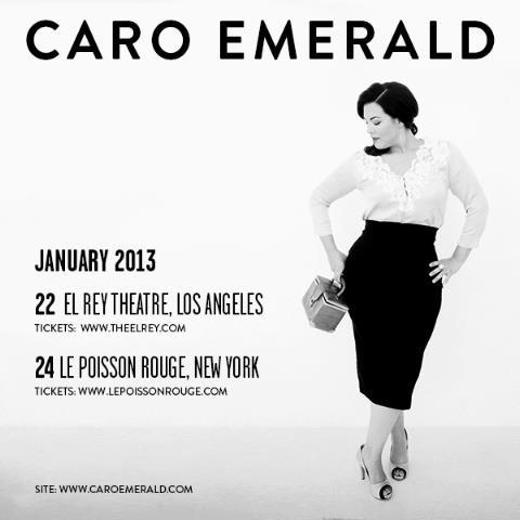 Caro Emerald Live Dates
