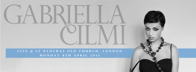 Gabriella Cilmi Church Show
