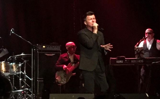 Rick Astley at The Phoenix Concert Theatre