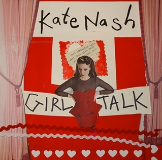 Kate Nash Girl Talk CD Cover