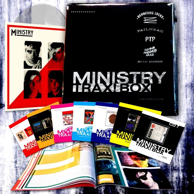 Ministry Wax Trax Box