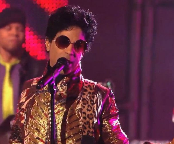 Prince Performing on Light Night With Jimmy Kimmel