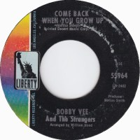 "Bobby Vee and the Strangers, ""Come Back When You Grow Up"""