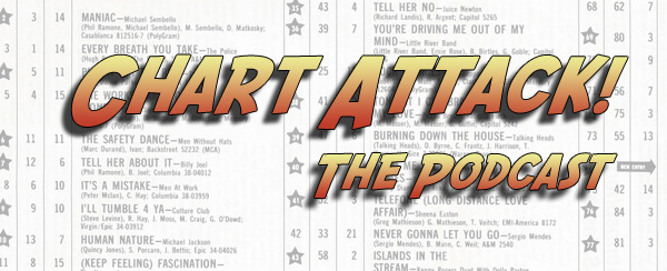 Chart Attack! The Podcast banner