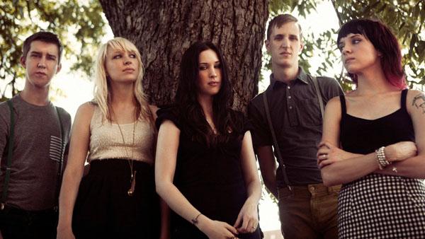 Eisley band group photo