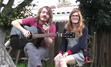 L-R: Evan Way and Brette Marie Way of the Parson Red Heads