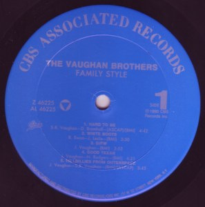 "The Vaughan Brothers ""Family Style"" Side 1"
