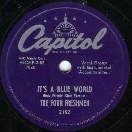 "The Four Freshmen, ""It's a Blue World"""
