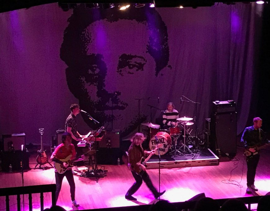 Concert Review: Franz Ferdinand, House of Blues, Cleveland