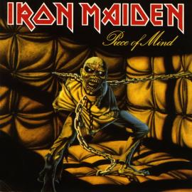 Iron Maiden, 'Piece of Mind' album cover