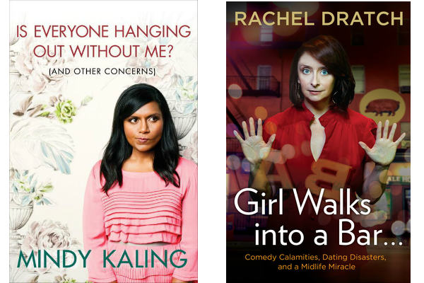 Mindy Kaling and Rachel Dratch