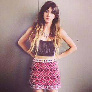 Kate Voegele Southwestern Skirt