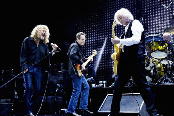 Led Zeppelin O2 Arena reunion
