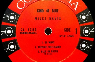 Miles Davis - Kind of Blue (center ring)