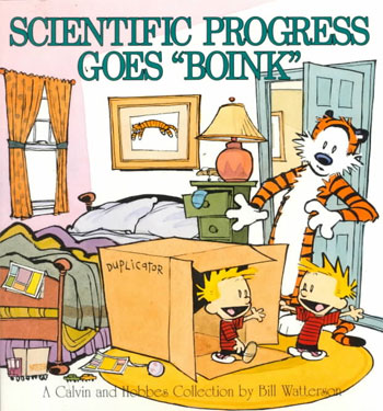 Scientific Progress Goes Boink