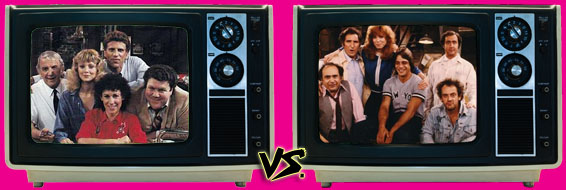 '80s Sitcom March Madness - (1) Cheers vs. (3) Taxi