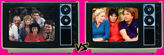'80s Sitcom March Madness - (1) Cheers vs. (3) Three's Company
