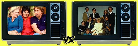 '80s Sitcom March Madness -  Three's Company vs. The New Leave It to Beaver