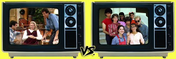 '80s Sitcom March Madness - It's Garry Shandling's Show vs. Square Pegs